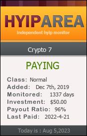 ссылка на мониторинг https://hyiparea.com/details/lid/171